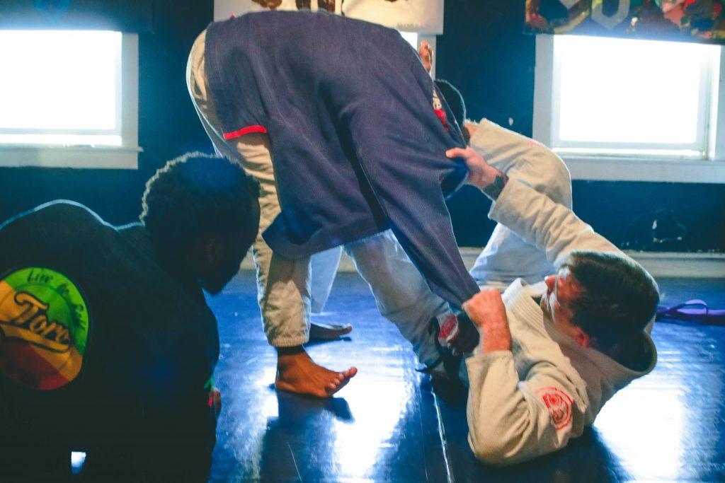 Andris Brunosvskis at Highstyle Jiu Jitsu