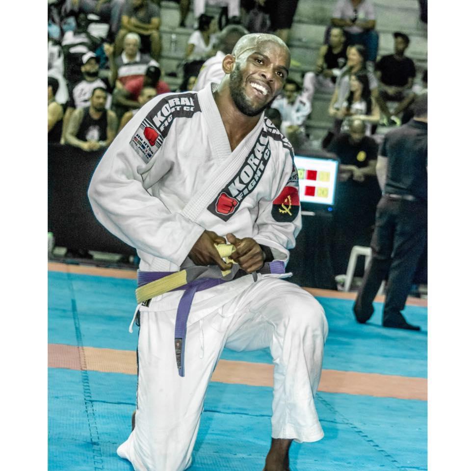 "Walter ""King Lobão"" Faustino Purple Belt"
