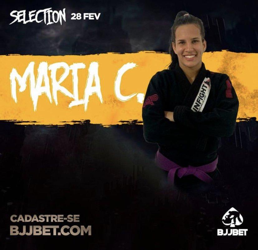 BJJ BET Maria Claudia