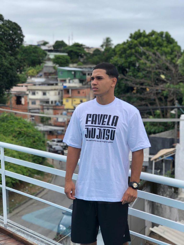 Favela Jiu Jitsu Special Edition White T-Shirt